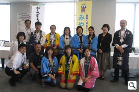 Group photo of all the staff. Thank you very much for your hard work!