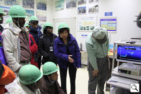 Study tour of premises equipment